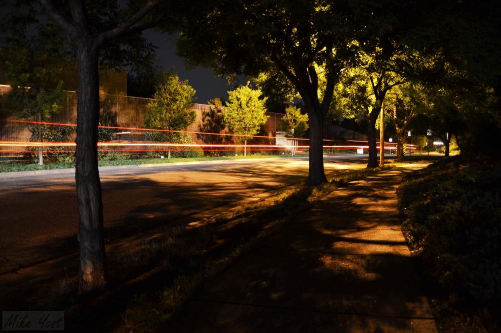 Red lights stretch