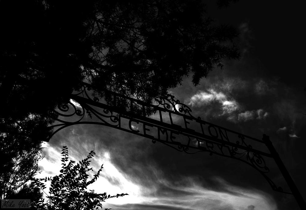 Littleton Cemetery sign V2