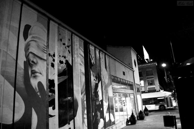 Street_Night - Wall Art